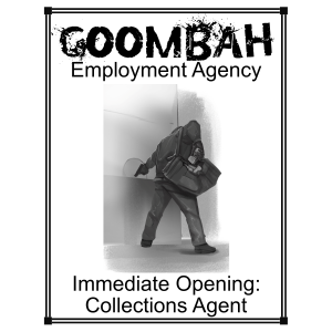 Goombah Employment agency_Collections Agent_Web